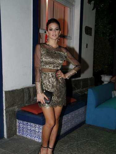 No lançamento danovela 'Salve Jorge', da TV Globo