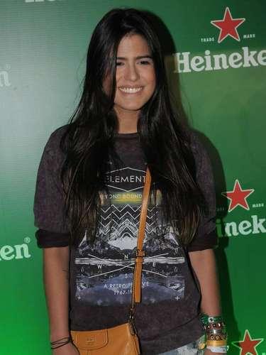 Antonia Morais, filha de Glória Pites, atua na novela global das 19h 'Guerra dos Sexos'