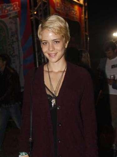 Celebridades marcaram presença também no segundo dia do festival Lollapalooza, que acontece neste sábado (30), no Jockey Club de São Paulo. Na foto, a atriz Leandra Leal