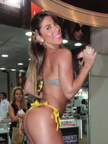 Tati Minerato na Hair Brasil 2013
