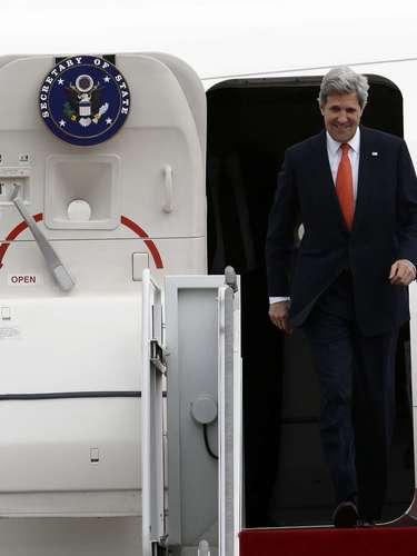 12 de abril - Em meio a tensão gerada pelas ameaças da Coreia do Norte,John Kerry fará um tour pela Ásia