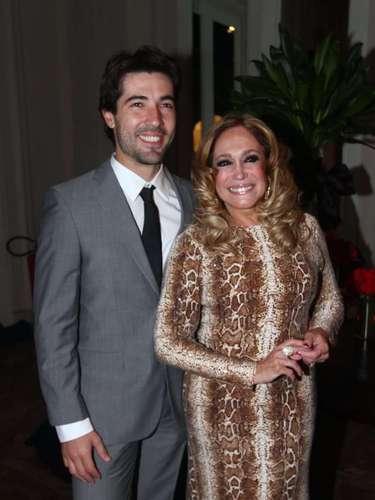 Susana Vieira e o noivo, Sandro Pedroso