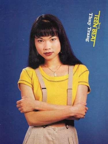 Thuy Trang, a primeira Ranger amarela, morreu em um acidente de carro, em 2001, aos 27 anos