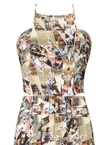 Vestido estampado da Lez a Lez. Preço: R$ 429. Informações: (47)3373-7000