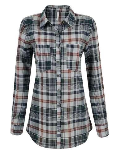 Camisa xadrez da Renner. Preço: R$ 79,90. Informações: (11) 2165-2800
