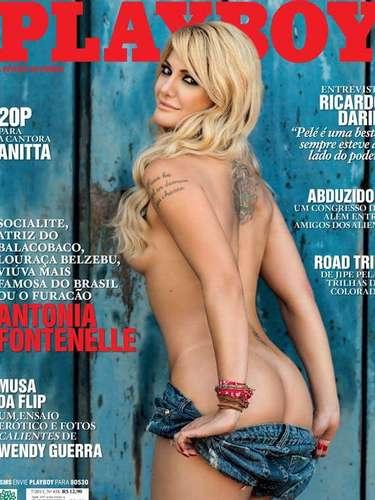 Antonia Fontenelle é a capa do mês de julho na 'Playboy'