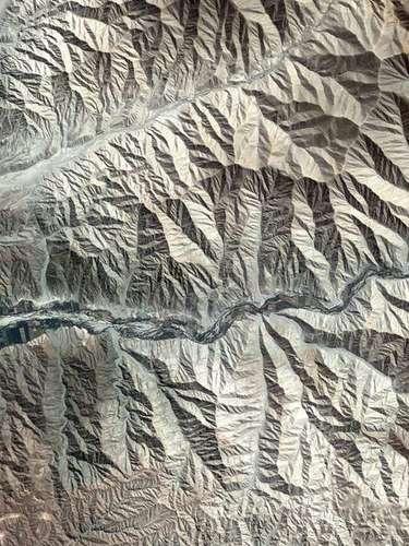 O sopé da Cordilheira dos Andes, perto da costa sul do Peru, foi capturado pelo satélite Kompsat-2 em imagem divulgada pela Agência Espacial Europeia (ESA, na sigla em inglês) nesta sexta-feira, 5 de julho