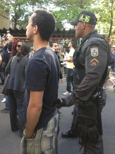Rio de Janeiro - Estudante chegou a ser detido por suposta agressão