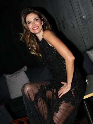 A apresentadora Luciana Gimenez lançou na noite de quinta-feira (12) em São Paulo, o ensaio sensual que fez para a revista GQ de setembro, na qual está na capa.