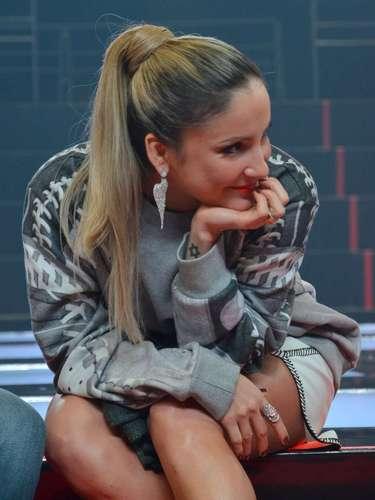 Jurados da segunda temporada do 'The Voice Brasil', Carlinhos Brown, Daniel, Claudia Leitte e Lulu Santos se apresentaram e conversaram com jornalistas na coletiva de imprensa do programa, nesta terça-feira (24), no Rio de Janeiro