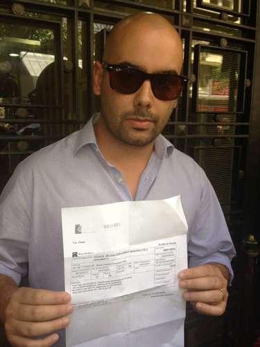 14 de janeiro - No Rio, Guilherme Pereira, 29 anos, se diz abismado ainda pelo fato de que, \