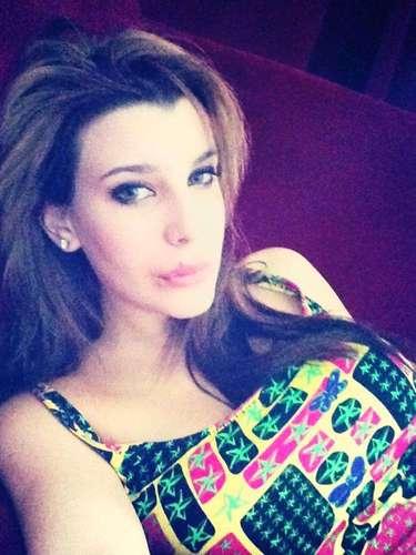 Charlotte Caniggia- filha do ex-atacante CláudioCaniggia