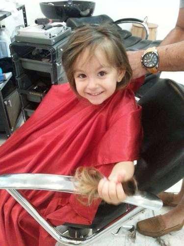 A mais recente doação veio de Luísa, de apenas três aninhos
