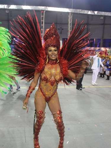 A Acadêmicos do Tatuapé trouxe para seu desfile, no Anhembi, 23 alas, 5 alegorias e 2,5 mil componentes