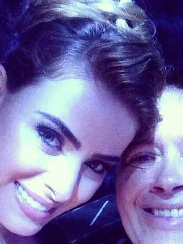 Responsável pela música da festa, DJ Marlboro publicou foto ao lado da noiva.