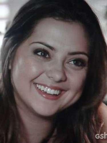 Bárbara se surpreende com a declaração de André, que diz ter se inspirado nela para fazer trabalho voluntário