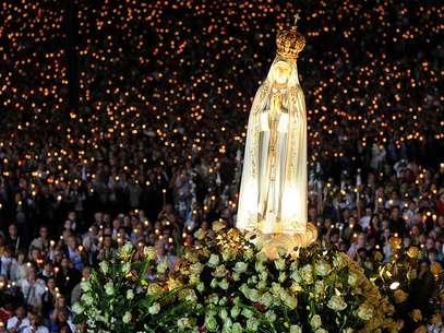 Todos los 13 de mayo se celebra la aparición de la virgen en la localidad de Fátima, Portugal. Foto: AFP
