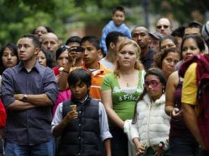 Hispanics hope to be represented in the primary. Foto: AP