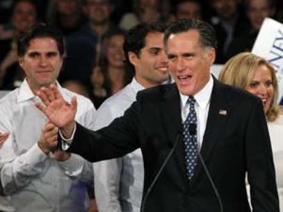 Mitt Romney was the clear winner of the New Hampshire primary. Foto: AP