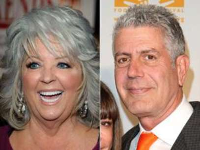Paula Deen And Anthony Bourdain Foto: Getty Images