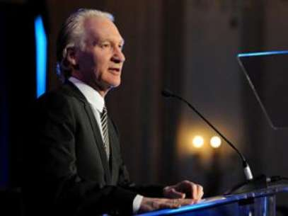 Bill Maher put his money where his mouth is. Foto: AP