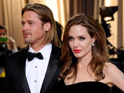 Angelina Jolie y Brad Pitt. Foto: Getty Images