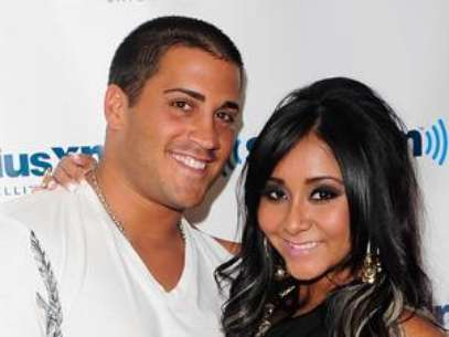 Jionni LaValle and Snooki. Foto: Getty Images
