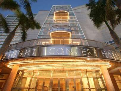 Adrienne Arsht Center. Exterior del Knight Concert Hall Foto: EFE