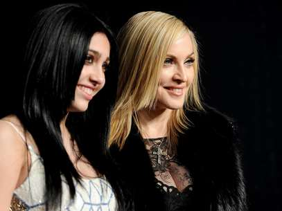 Lourdes y Madonna Foto: Getty Images