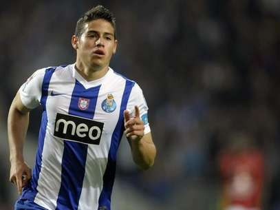 James Rodrguez, jugador colombiano de Porto de Portugal Foto: Getty Images