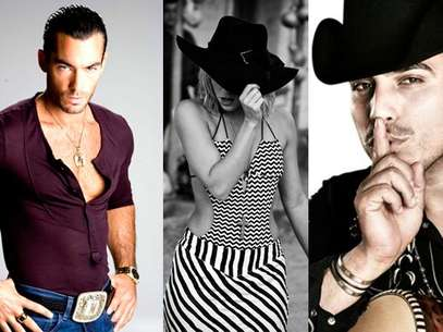 Aaron Diaz, Shakira y Espinoza Paz Foto: Difusin