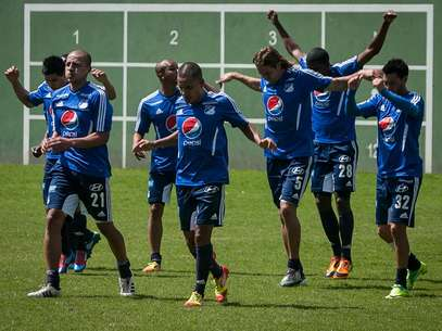 Millonarios inici pretemporada bajo el mando del tcnico Hernn Torres Foto: John Paz / Terra