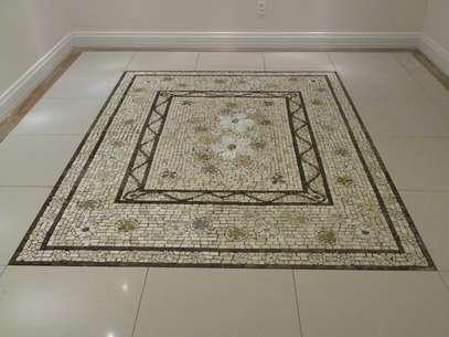 Os mosaicos têm ganhado espaço na decoração de residências Foto: Leonardo Posenato