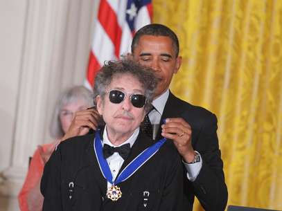 Bob Dylan, reconocido por Barack Obama. Foto: AFP