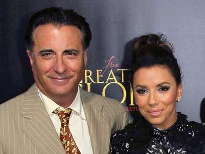 Andy Garcia and Eva Longoria. Foto: Getty Images