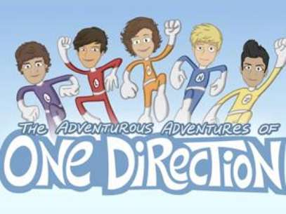 One Direction Gets Animated. Foto: Official Video
