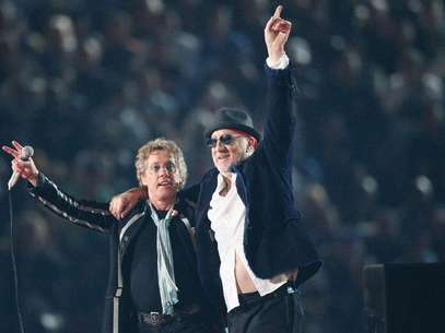 Roger Daltrey (izquierda) y Pete Townshend, de The Who. Foto: Getty