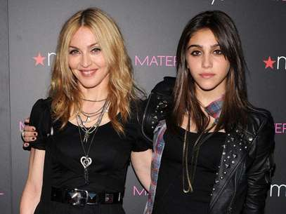 Madonna y Lourdes su hija Foto: Getty Images