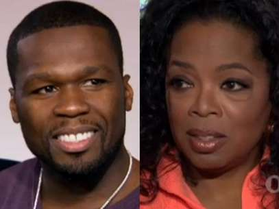 50 Cent And Oprah Winfrey. Foto: OWN