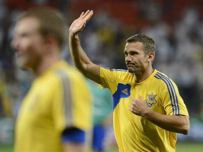 Ukraine's Andriy Shevchenko says goodbye to soccer Foto: Nigel Roddis / Reuters