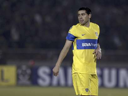 Juan Roman Riquelme hopes to win his second Copa Libertadores title in 2012.  Foto: Eduardo Di Baia / AP