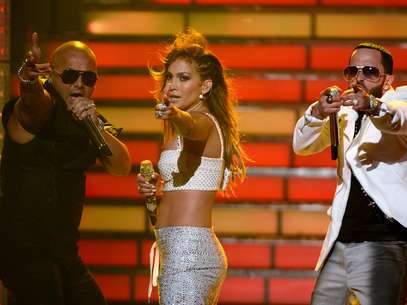 Wisin y Yandel dejan sola a J.Lo Foto: Getty Images