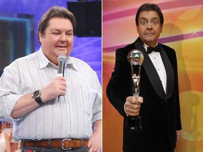 Faustão perdeu mais de 35 kg em um ano após passar por uma operação Foto: João Cotta e Zé Paulo Cardeal/TV Globo