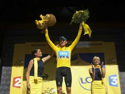 Wiggins vence y sigue de líder en la Tour de Francia Foto: Getty Images