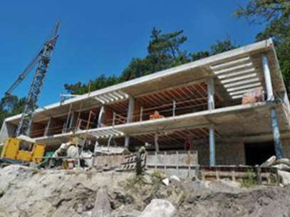 The new mansion will be almost impossible to reach by land. Foto: Sports/INternet