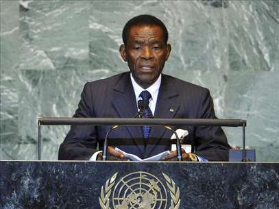 El presidente de Guinea Ecuatorial, Teodoro Obiang Nguema Foto: Agencia EFE / EFE en espaol