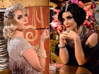 Os figurinos usados no Bataclã, cabaré da novela 'Gabriela', estam influenciando tendências de moda e beleza Foto: TV Globo/Raphael Dias