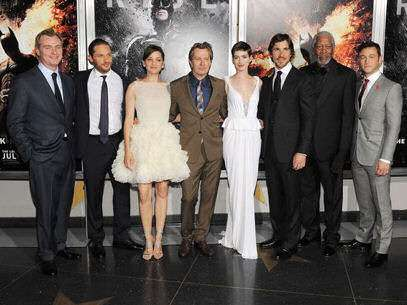 "Elenco de ""The Dark Knight Rises"". Foto: Getty Images"