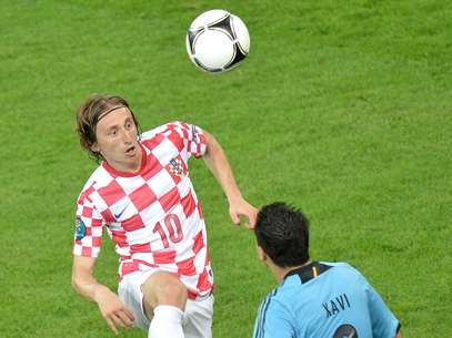 Luka Modric did not train with Tottenham Thursday, and his future with the club is still up in the air. Foto: Getty Images
