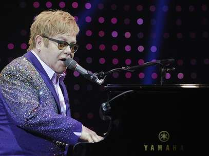 "British singer Elton John performs during a concert as part of his ""Greatest hits Live 2012"" world tour at the Ondrej Nepela Arena in Bratislava July 10, 2012. Foto: Radovan Stoklasa / Reuters In English"